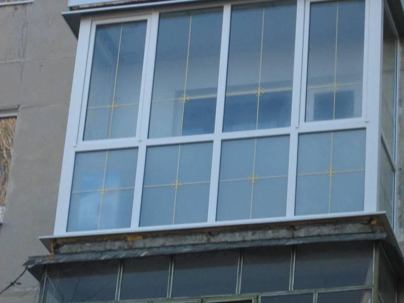 Конструирование пластиковых окон для балкона.